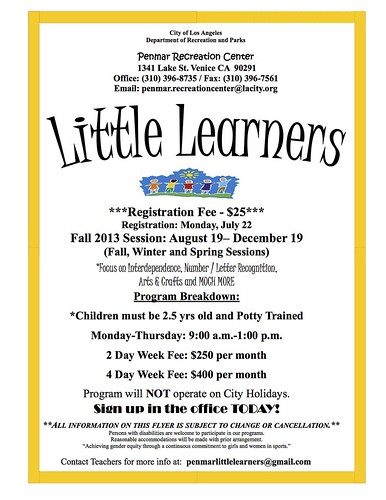 Little Learners at Penmar Park