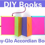 Highlighted Post: Day-Glo Accordion Books