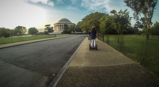Segway Tour at Jefferson Memorial
