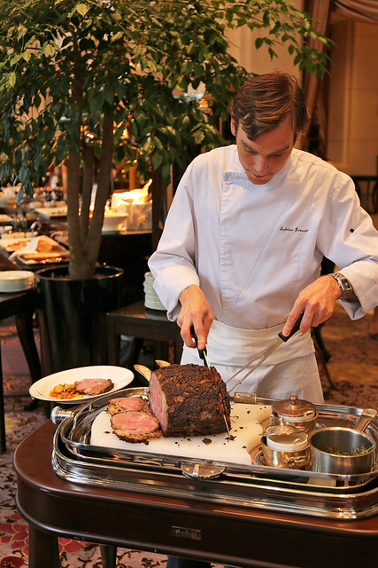 Chef de Cuisine Antoine Bonnet has over 20 years in preparing contemporary French cuisine