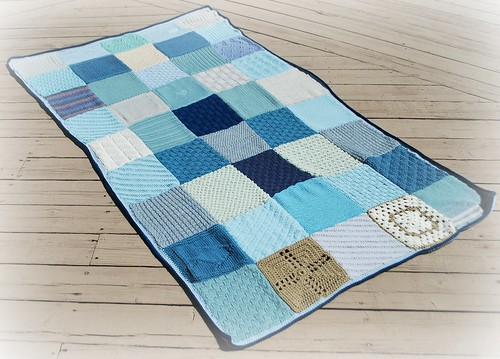 Berties Blanket Aran