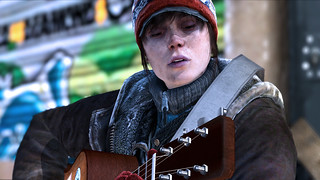 Beyond : Two Souls - Jodie joue de la guitare