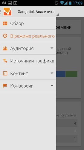 Google Analytics для Android