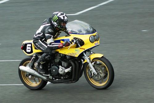 Dominique Pierre (Honda RCB replica, 1983_DLA Racing_BOC)