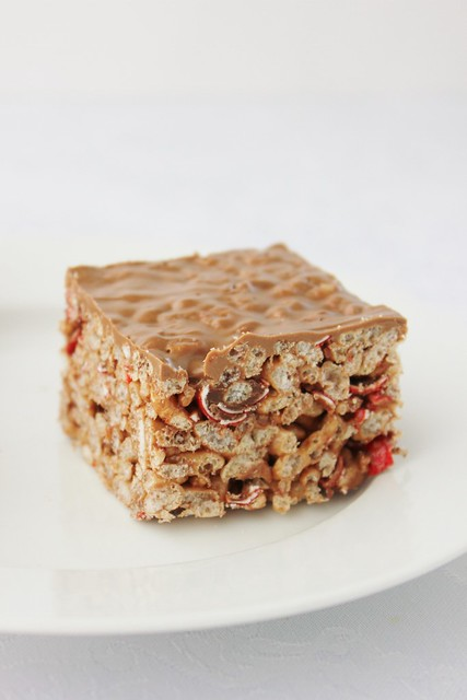 Jaffa Rice Krispie Treats