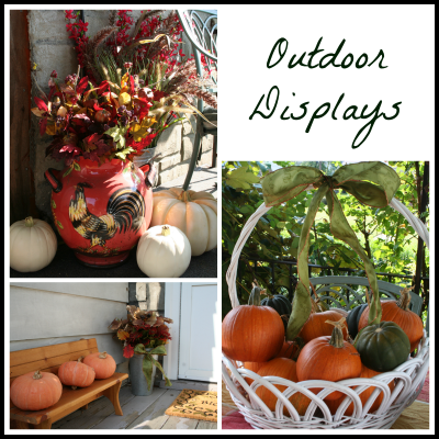Fall Outdoor Display