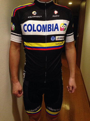 COLOMBIA jersey & bib shorts