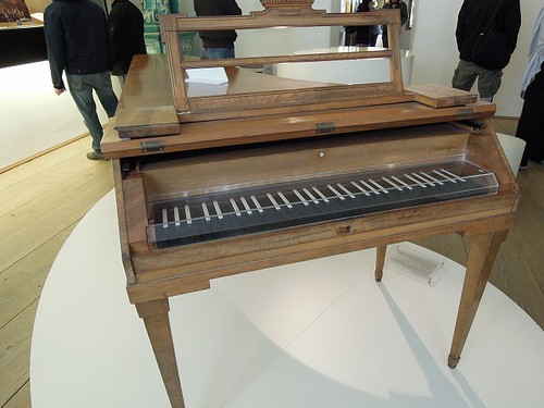 愛用したピアノ