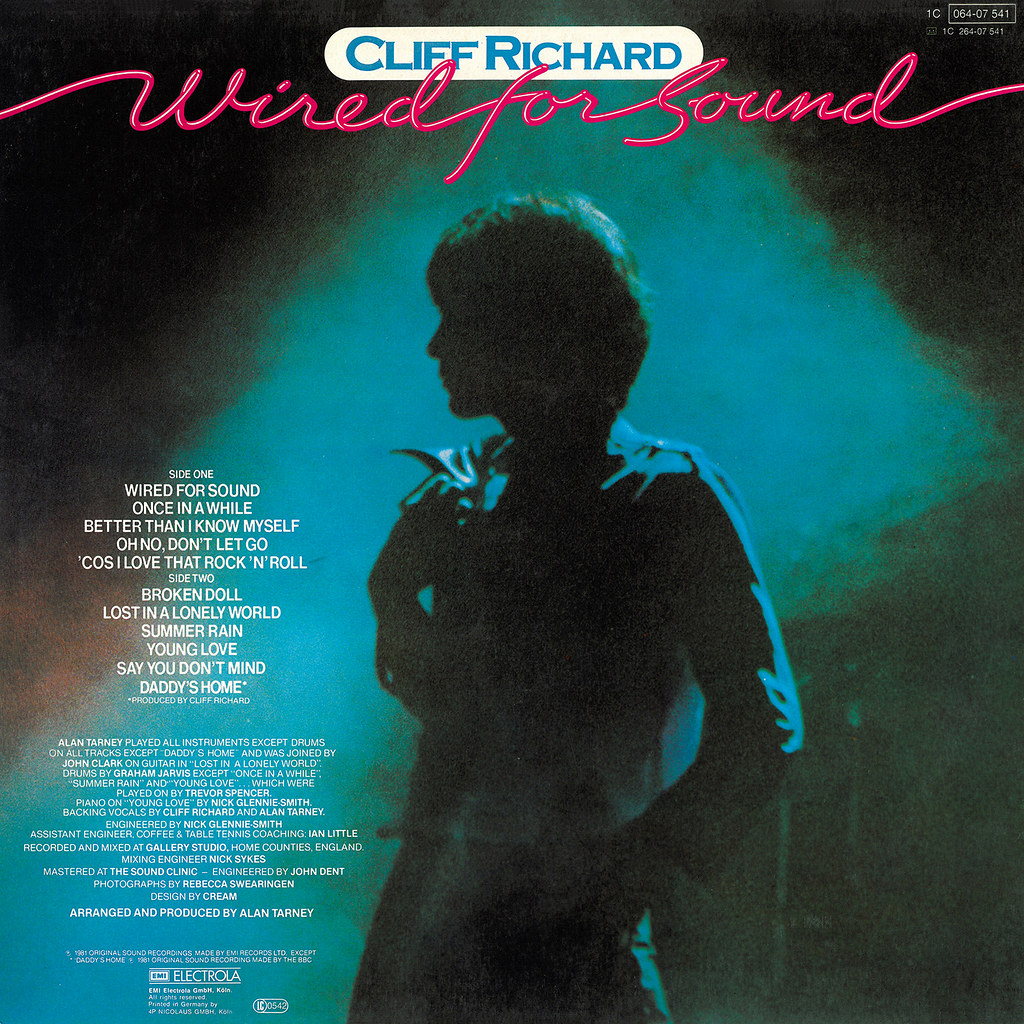 Wired for Sound | LP Cover Art