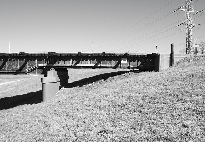 1930 Texas & Pacific Railroad Bridge over Trinity River, Dallas, Texas 1309301029