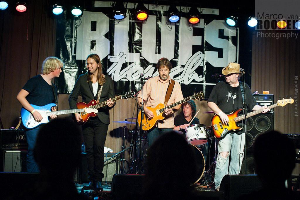 Sonny Hunt & The Dirty White Boys featuring Leif de Leeuw, Dick Stam, Han Neijenhuis, Eibe Gerhartl and Filip Schrijver