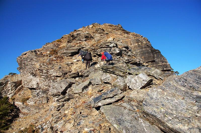 攀登無明山西峰 1