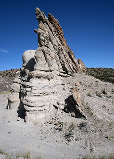 Normal fault, Abiquiu, New Mexico