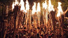 Kyoto Kuruma Fire Festival