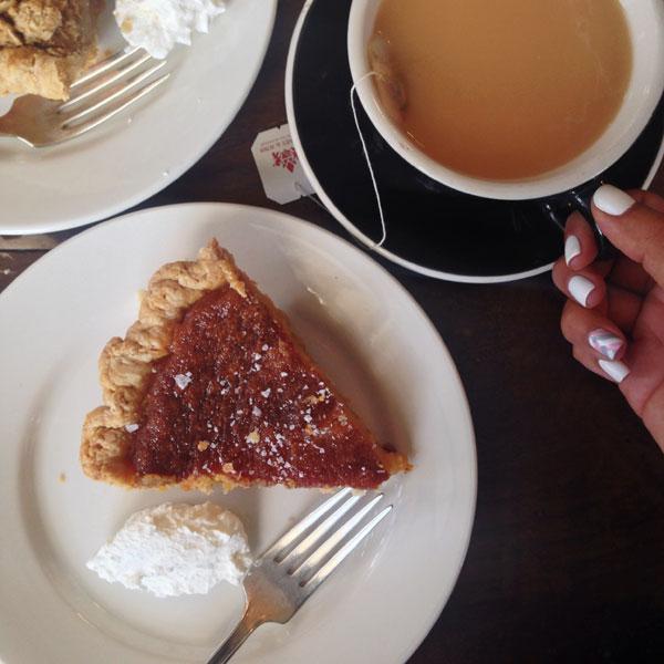 Salty Honey Pie // www.acozykitchen.com