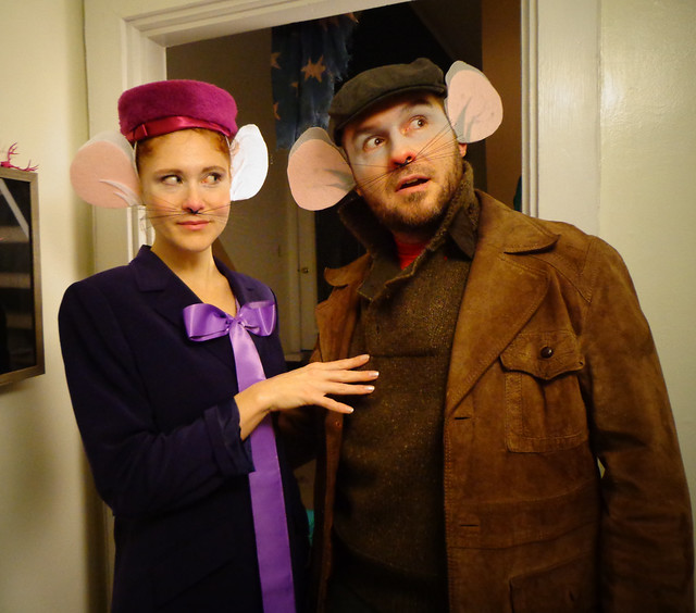 The Rescuers Halloween Costume - Bernard and Bianca