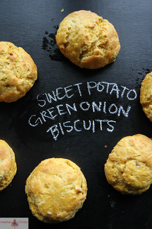 Sweet Potato and Green Onion Biscuits
