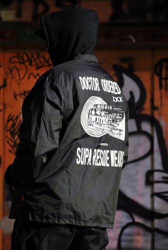 doctor orderd TB-303 nylon jackets