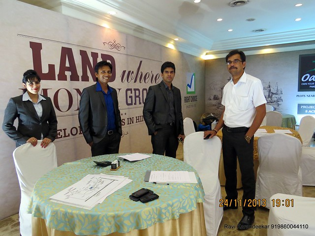 Right Choice Group - www.rightchoicegroup.in - Plots - Pune Property Exhibition, Times Property Expo 'Investment Festival 2013', 23rd & 24th November 2013