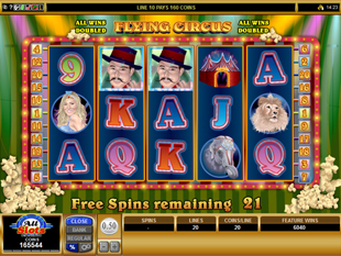 Flying Circus Free Spins