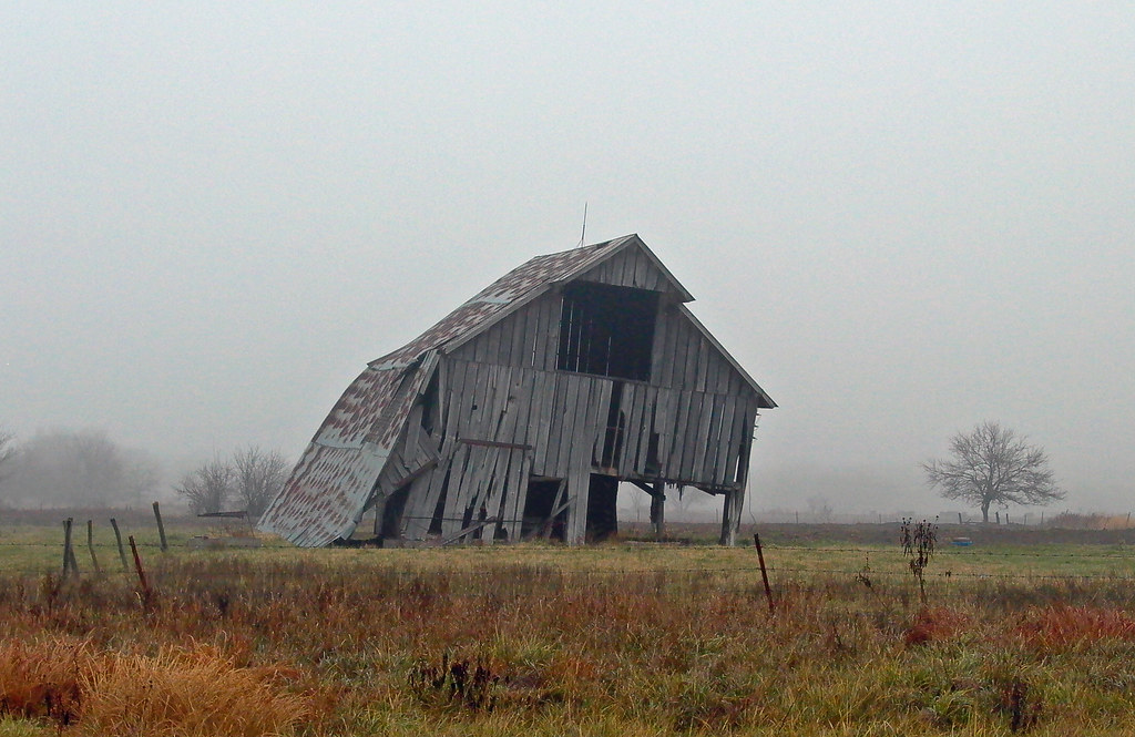 Abandoned in Southeast, KS.