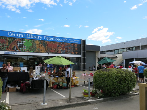 Christmas Market at Central Library Peterborough