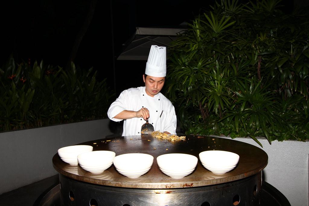 新加坡君悦酒店:绿洲烧烤酒店