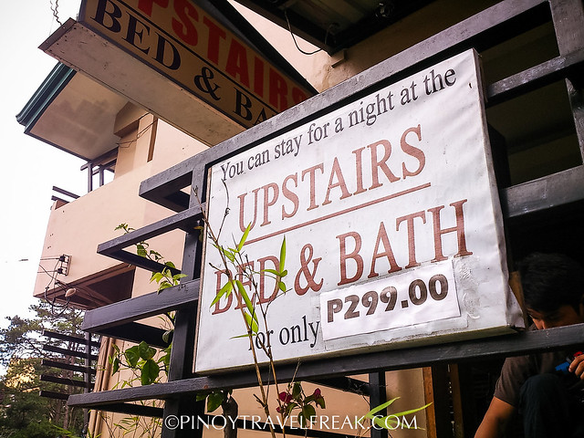 Pinoy Travel Freak Baguio City Accommodation Upstairs Bed Bath