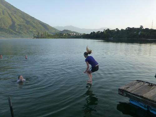 Jumping in Atitlan