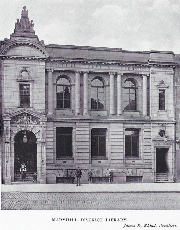 Maryhill Library Exterior