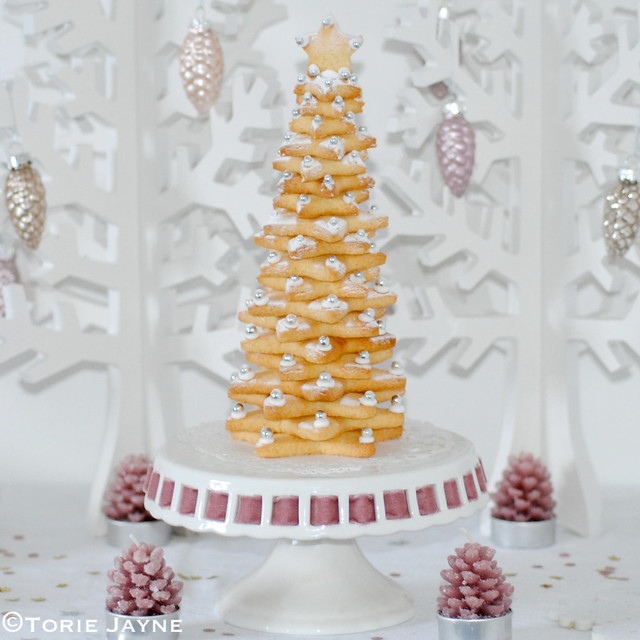 Gluten free Christmas cookie tree