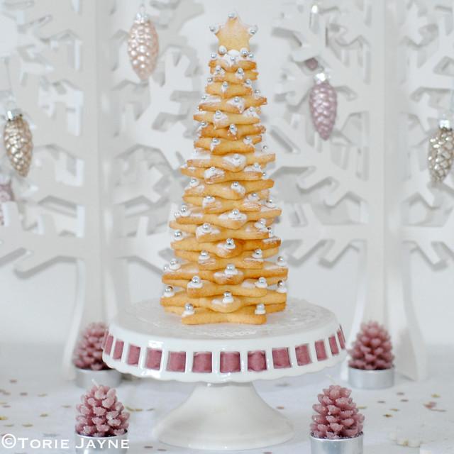 Gluten free Christmas cookie tree
