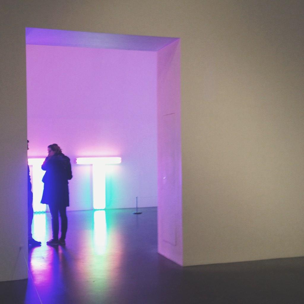 Dan Flavin at Tate Modern