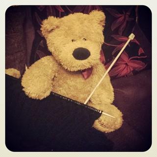361 - Bernard takes up knitting