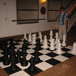 Sked with jumbo chess