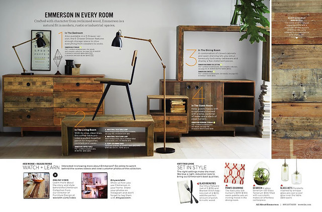 West Elm January 2014 Catalog