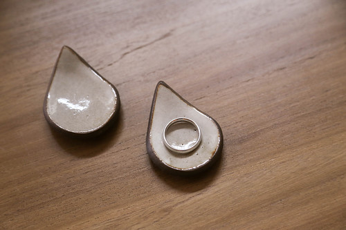 raindrop ring dishes