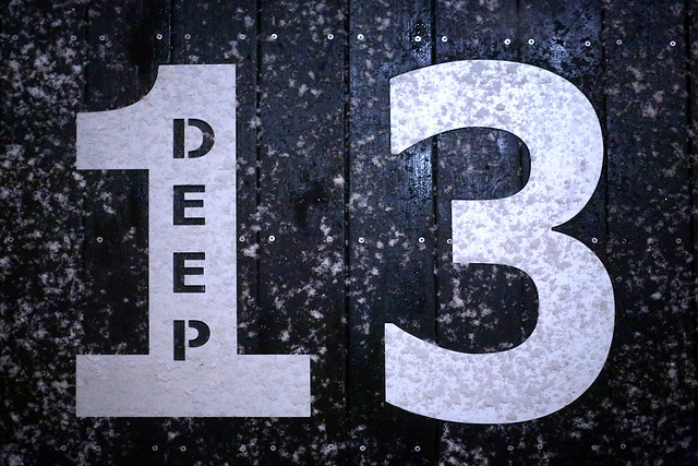 Deep 13 in the Snow