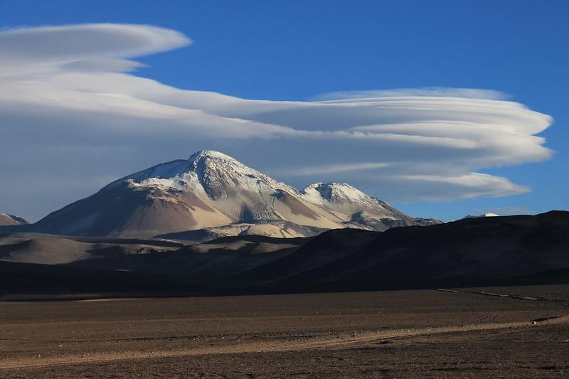 Lennies over El Muerto (6510m)