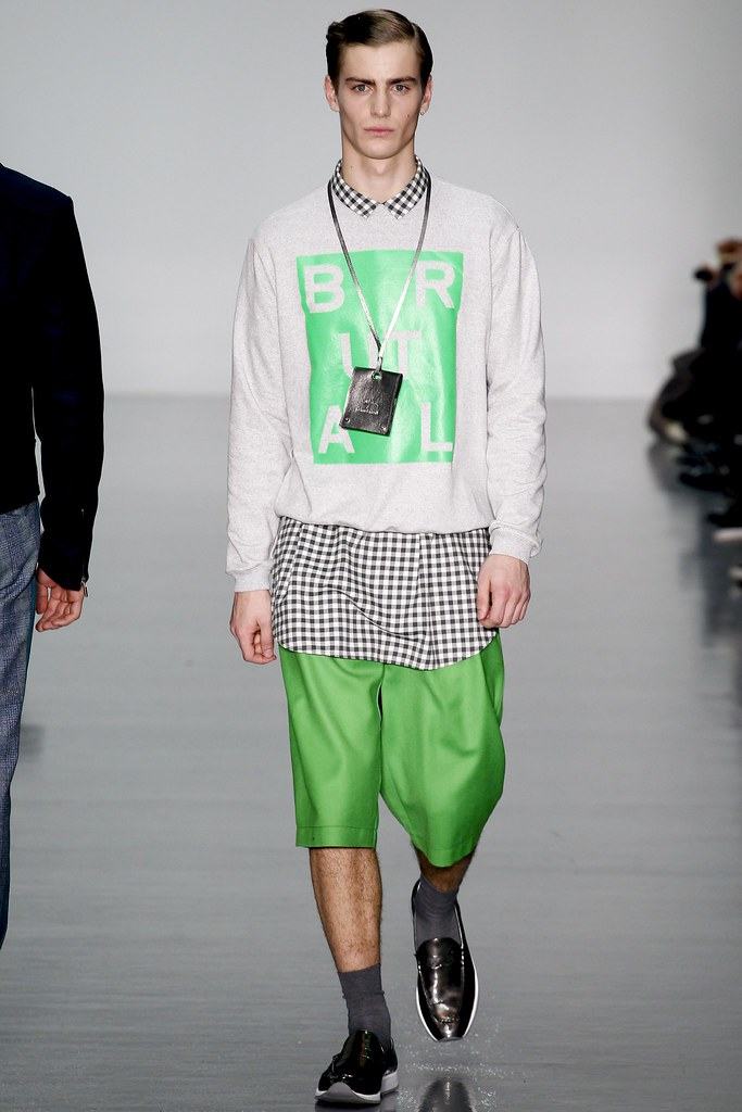 FW14 London Richard Nicoll008_Ben Allen(VOGUE)
