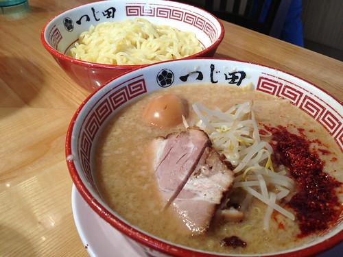 Tsukemen at Tsujita Annex