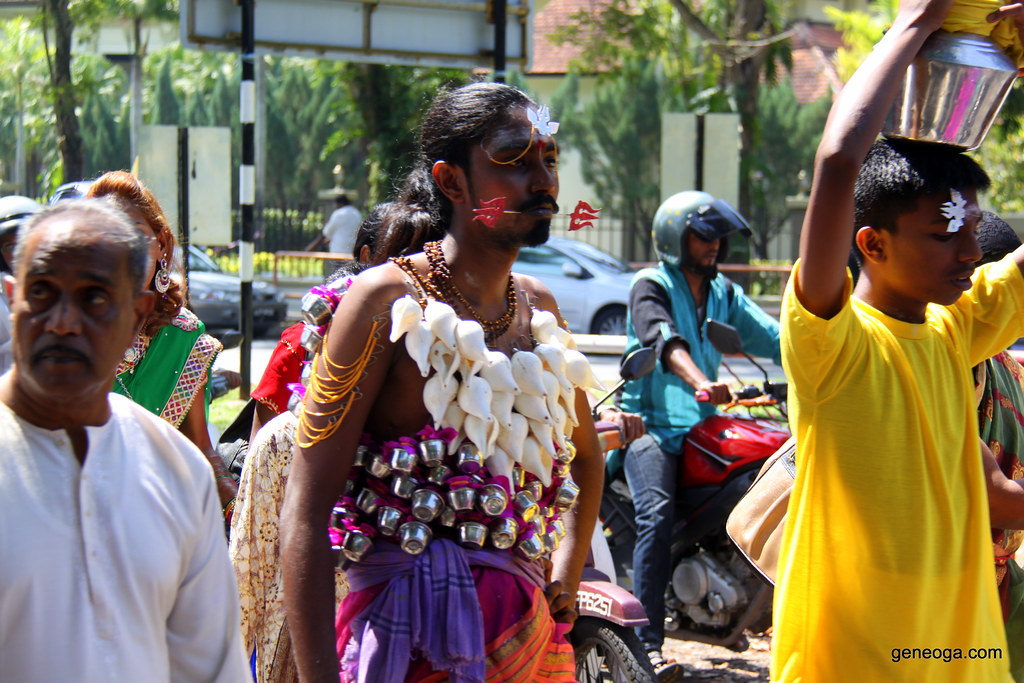 Thaipusam Celebration in George Town, Penang