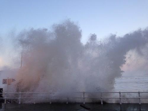 Temporal en Gijón - febrero 2014