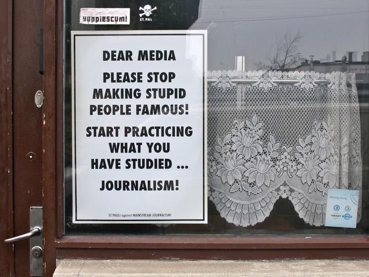 Dear media...