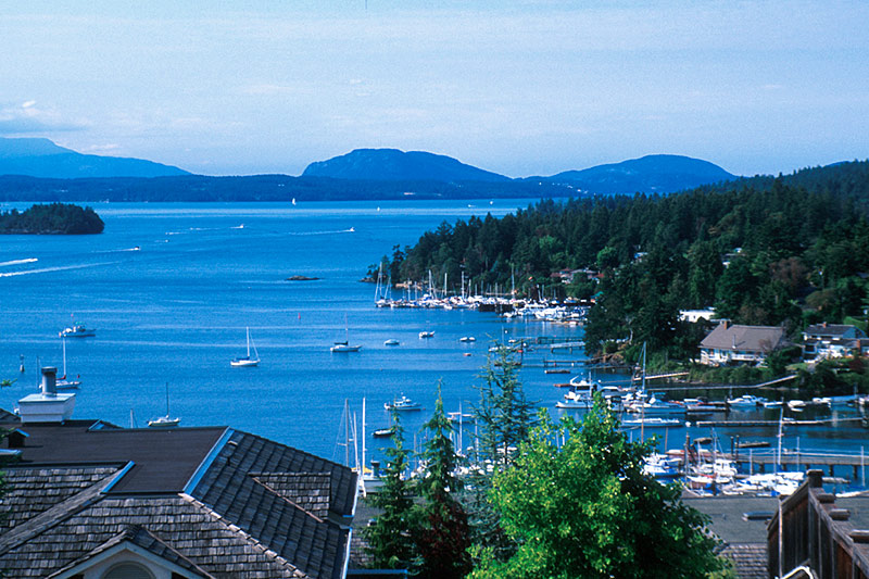 Brentwood Bay, Victoria, Vancouver Island, British Columbia, Canada