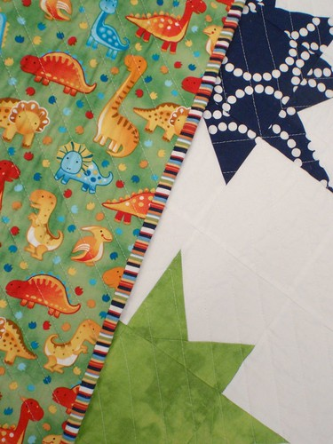 A Star is Born quilt - back