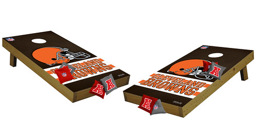 Cleveland Browns Premium Cornhole Boards