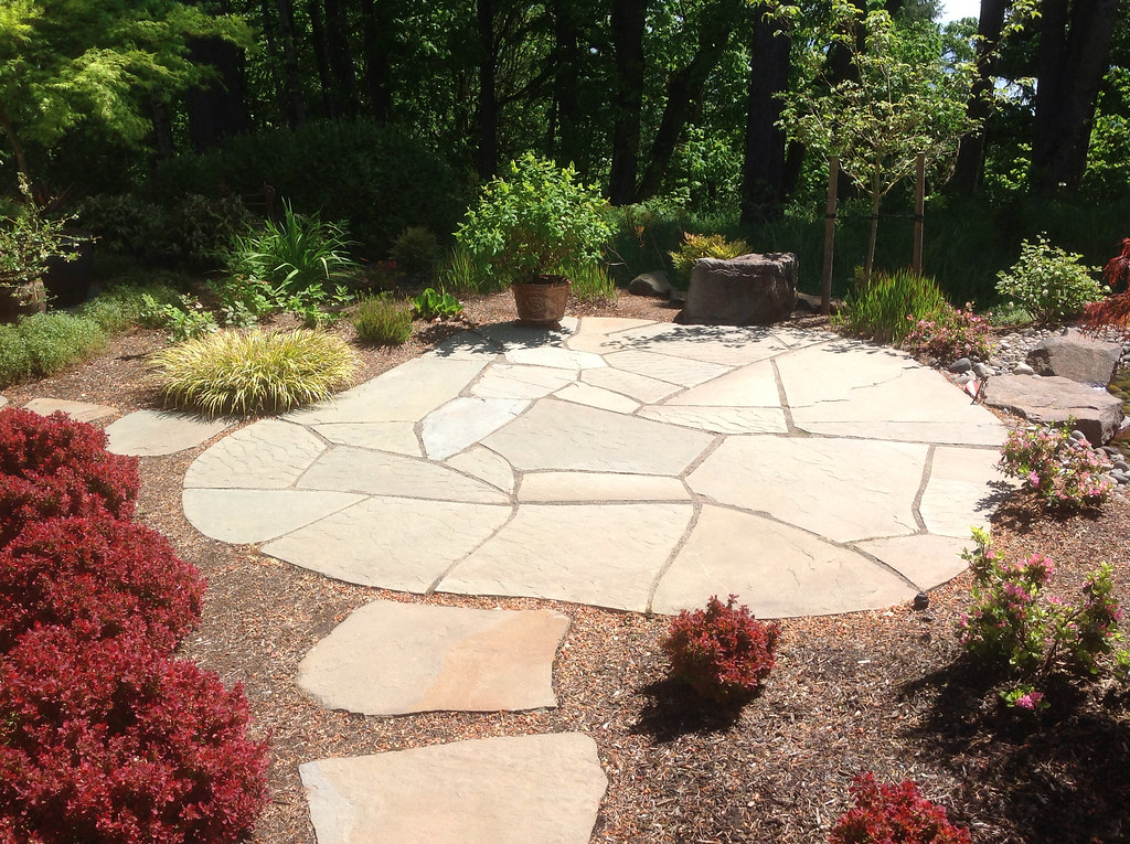 Greenhaven Landscapes Inc., Stepping Stones, Shrubs, Landscape, Landscaping,  Walkway, Patio, Stone Patio