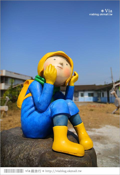 【台南後壁幾米】後壁土溝農村美術館‧農村就是美術館!幾米作品可愛現縱~32