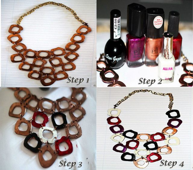 How to turn a necklace from frumpy to fabulous, how to revamp a necklace, revamping a necklace, diy necklace, necklace diy